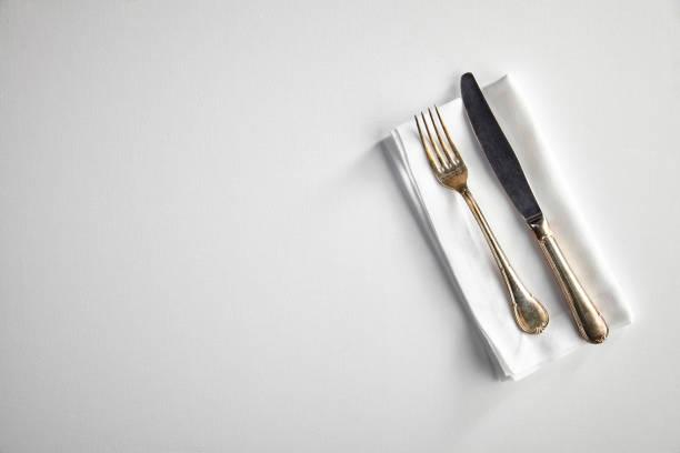 Blick auf eine leere Tabelle – Foto