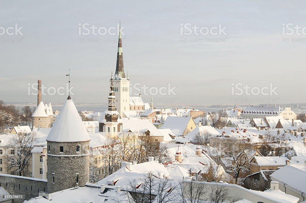 Blick auf die Altstadt von Tallinn.  Estland – Foto