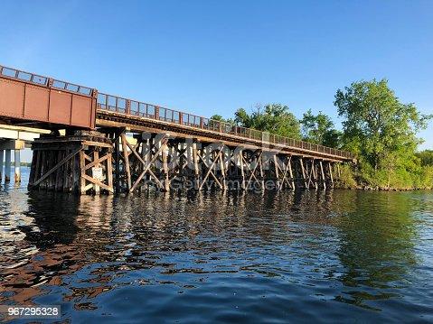 Bridge - Built Structure, River, lake, Summer, Trestle