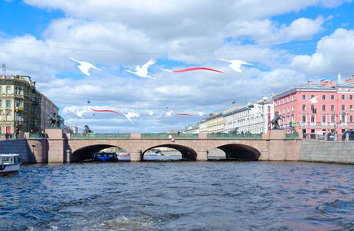 гарантируем аничков мост ход строительства фото капитан разлив установка