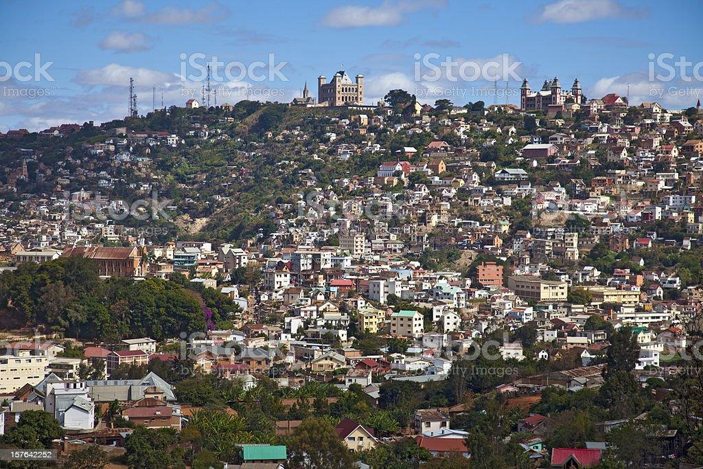 Vue de Antananarivo (Tana), vanille - Photo