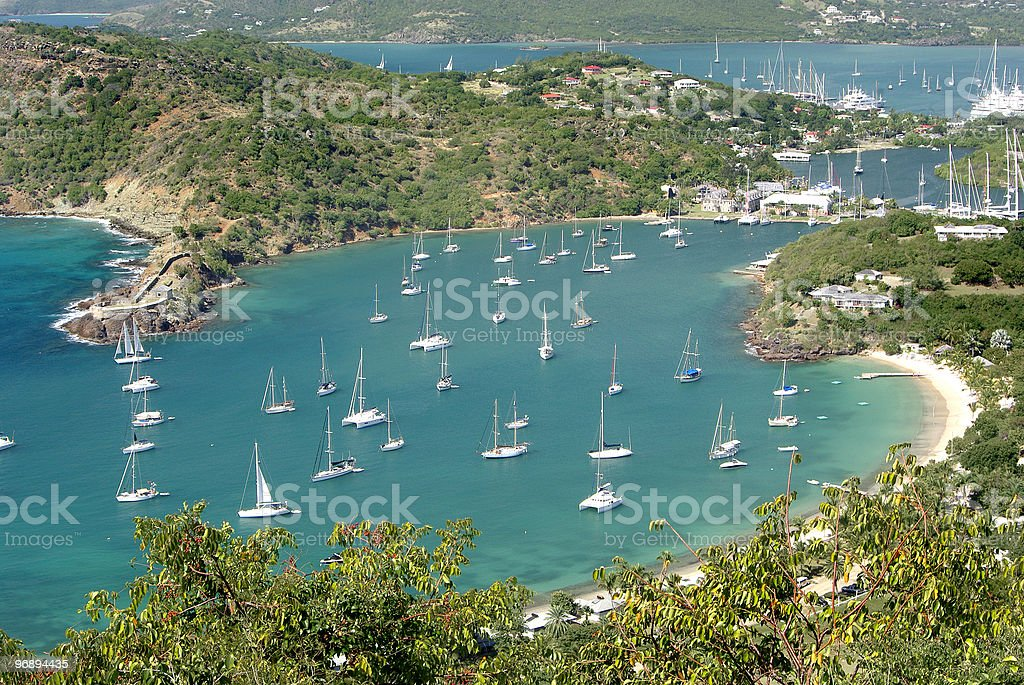 View of Antigua royalty-free stock photo