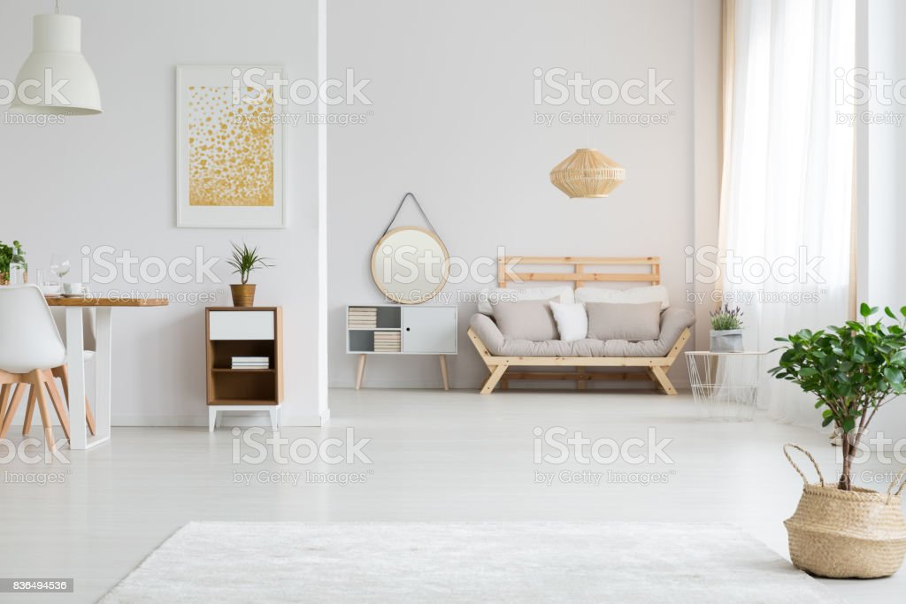 View of apartment design stock photo