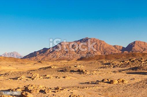 istock View of Arabian desert and mountain range Red Sea Hills in Egypt 1238079801