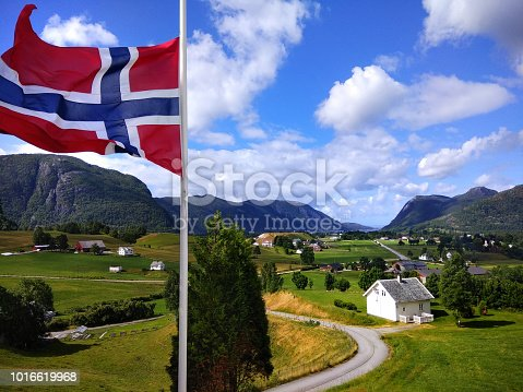 istock View of Ardal village in in Hjelmeland municipality in Rogaland county, Norway. 1016619968