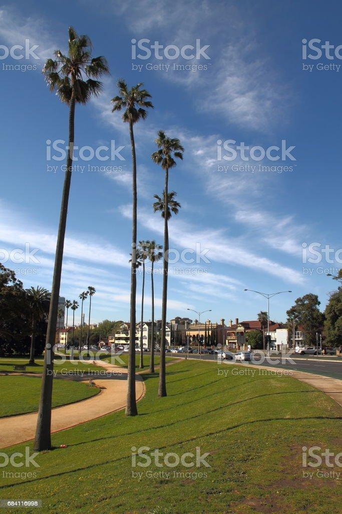 View of around St Kilda Pier , Melbourne , Australia royalty free stockfoto