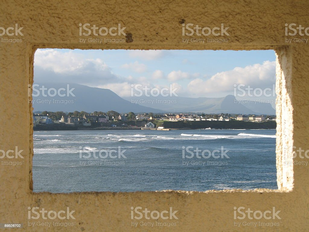 View of Atlantic, Donegal 免版稅 stock photo