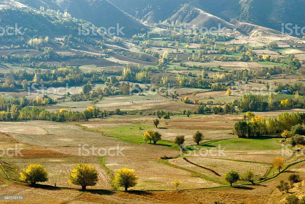 View of Autumn Elazig, Turkey. royalty-free stock photo