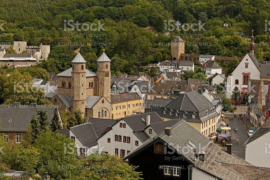 View of Bad Muenstereifel royalty-free stock photo