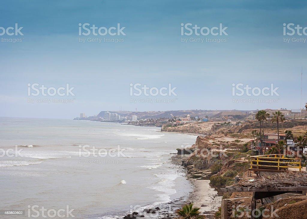 Vista de Baja California - foto de stock