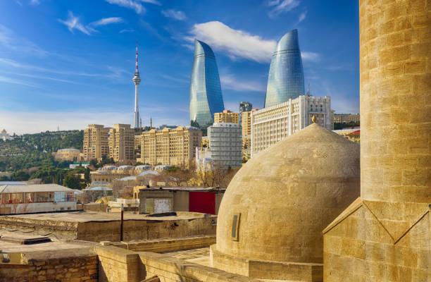 Ansicht von Baku – Foto