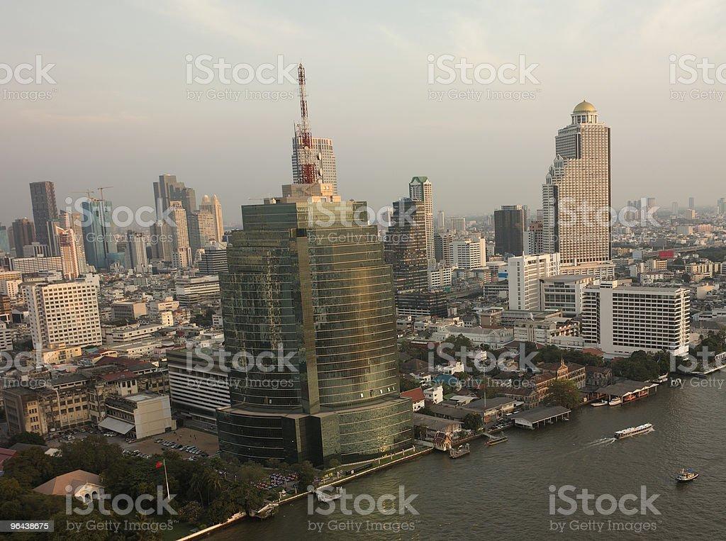 Vista de Bangkok - Foto de stock de Bangkok royalty-free