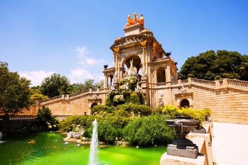 View of Barcelona,  Parc de la Ciutadella