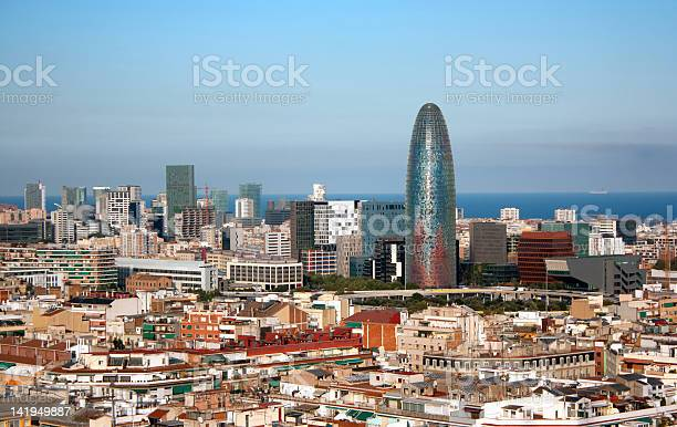 View Of Barcelona Spain Stock Photo - Download Image Now