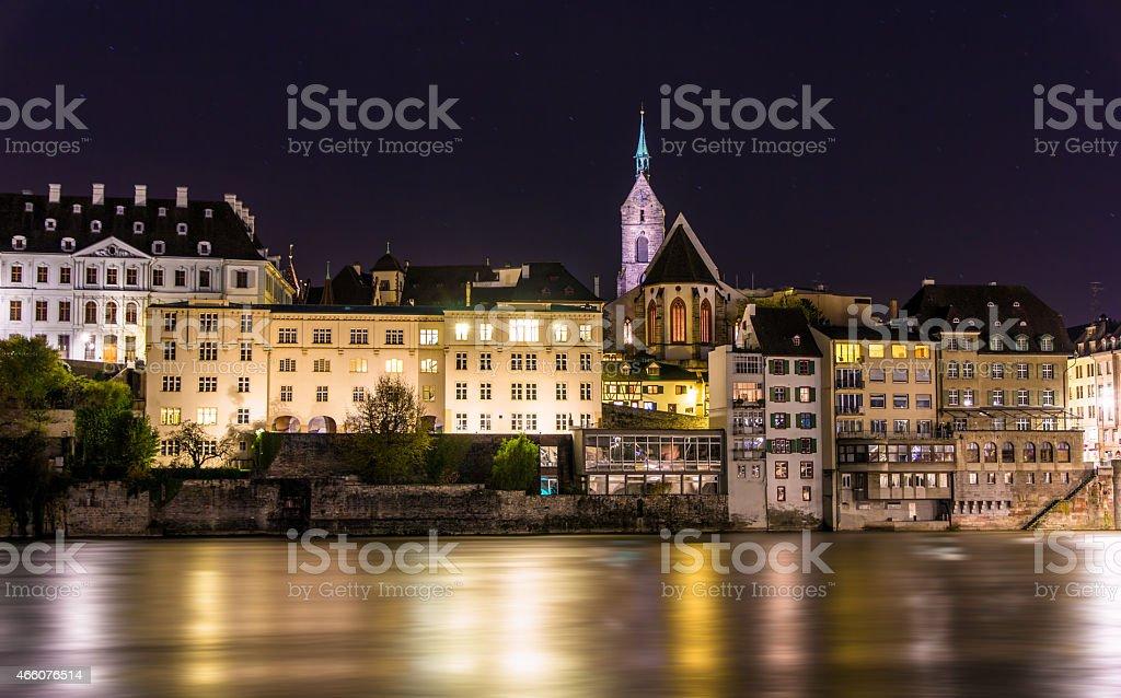 Blick auf die Altstadt von Basel, Schweiz – Foto