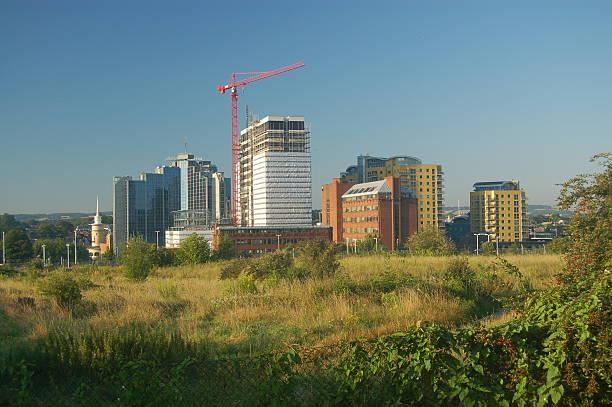 View of Basingstoke stock photo