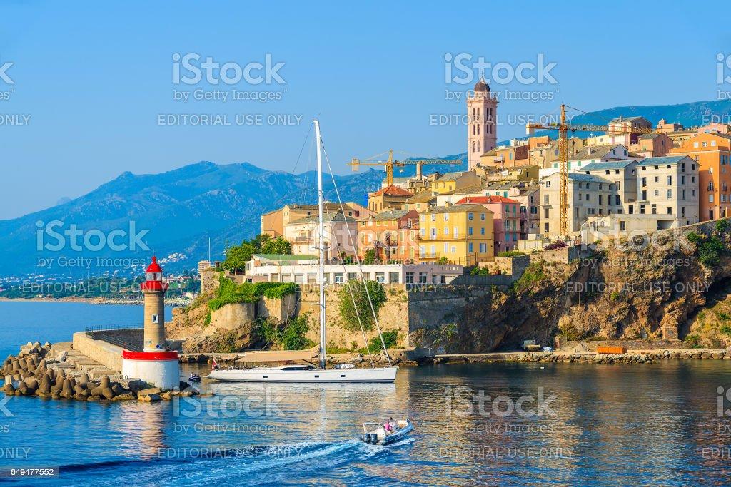 Bastiaport Korsika 5 Jul 2015 En Vy Av Staden Bastia Pa Korsika On Frankrike Bastia Ar Ons Huvudstad Foton Och Fler Bilder Pa Arkitektur Istock