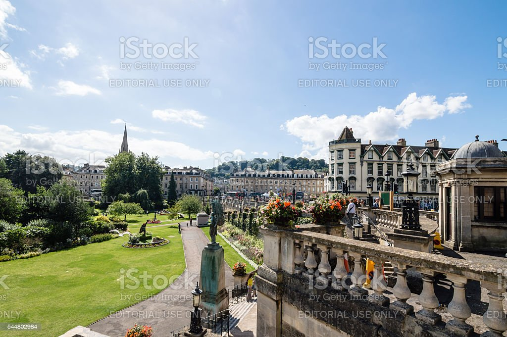 View of Bath stock photo