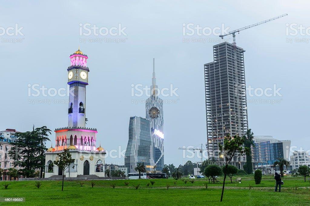 View of Batumi stock photo