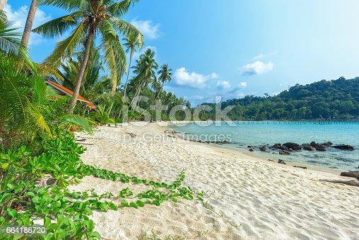 View of beach Koh Kood island, Thailand