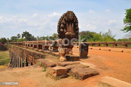 istock View of Benteay Srei Temple, Cambodia 1190637049