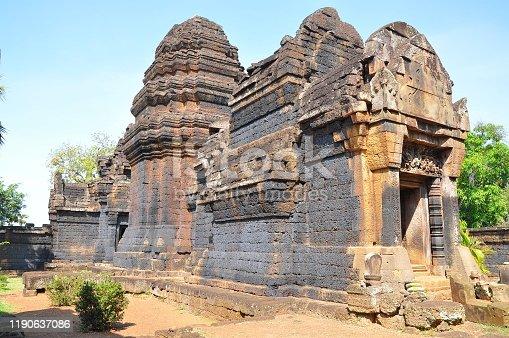 istock View of Benteay Srei Temple, Cambodia 1190637086