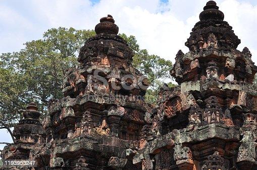 istock View of Benteay Srei Temple, Cambodia 1193953247