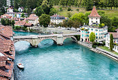 View of Bern Old Town in Switzerland
