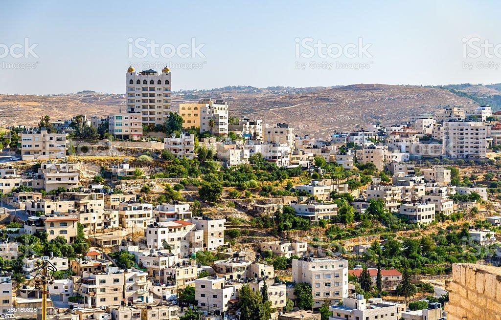 View of Bethlehem - Palestine stock photo