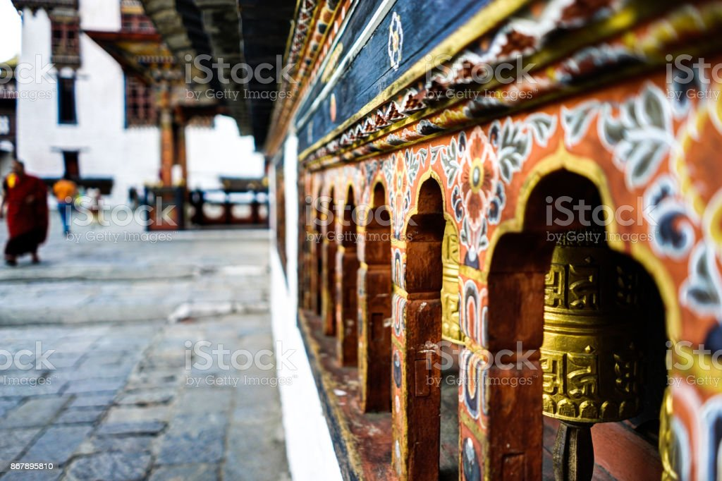 View of Bhutan stock photo