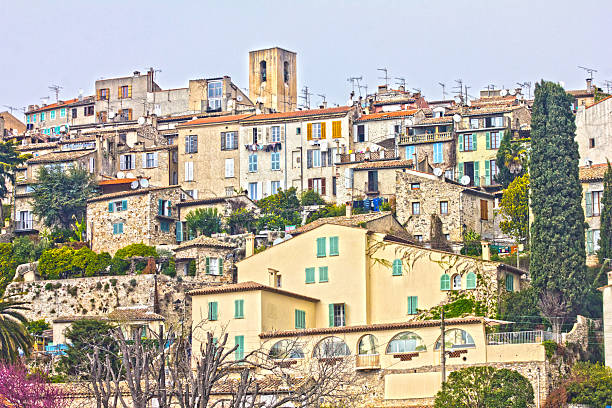 Blick auf Biot, Süden von Frankreich – Foto