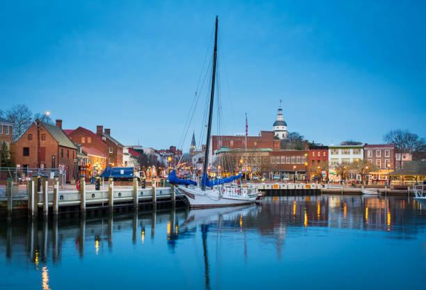 Hafen von Annapolis – Foto