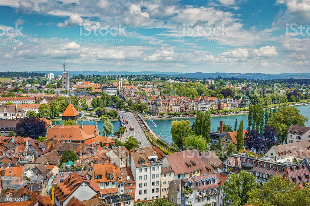 view of Bodensee from Munster – Foto