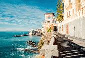 istock View of Bogliasco, Italy 163739033