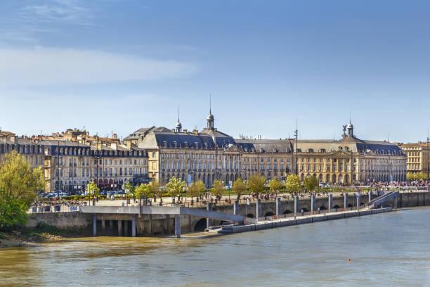 Ansicht des Stadtzentrums von Bordeaux, Frankreich – Foto