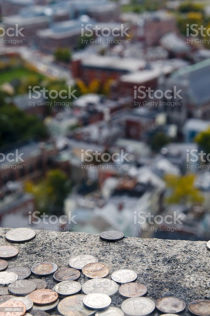 View of Boston royalty-free stock photo