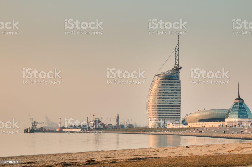 Ein Blick auf Bremerhaven. – Foto