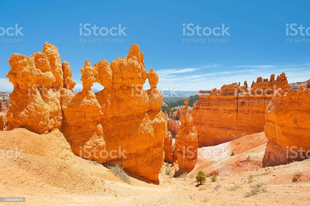 View of Bryce Canyon stock photo