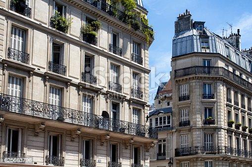 istock View of buildings in Paris France 625663796
