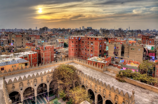 468444004 istock photo View of Cairo from roof of Amir al-Maridani mosque 466089894