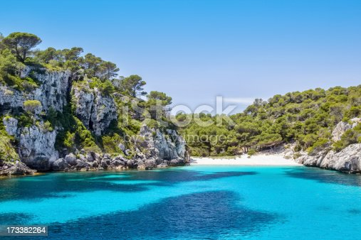 istock View of Cala Macarelleta beach on Menorca Island 173382264