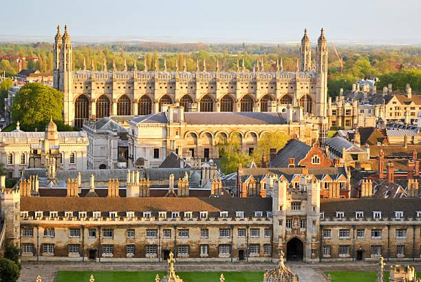View of Cambridge's Colleges stock photo