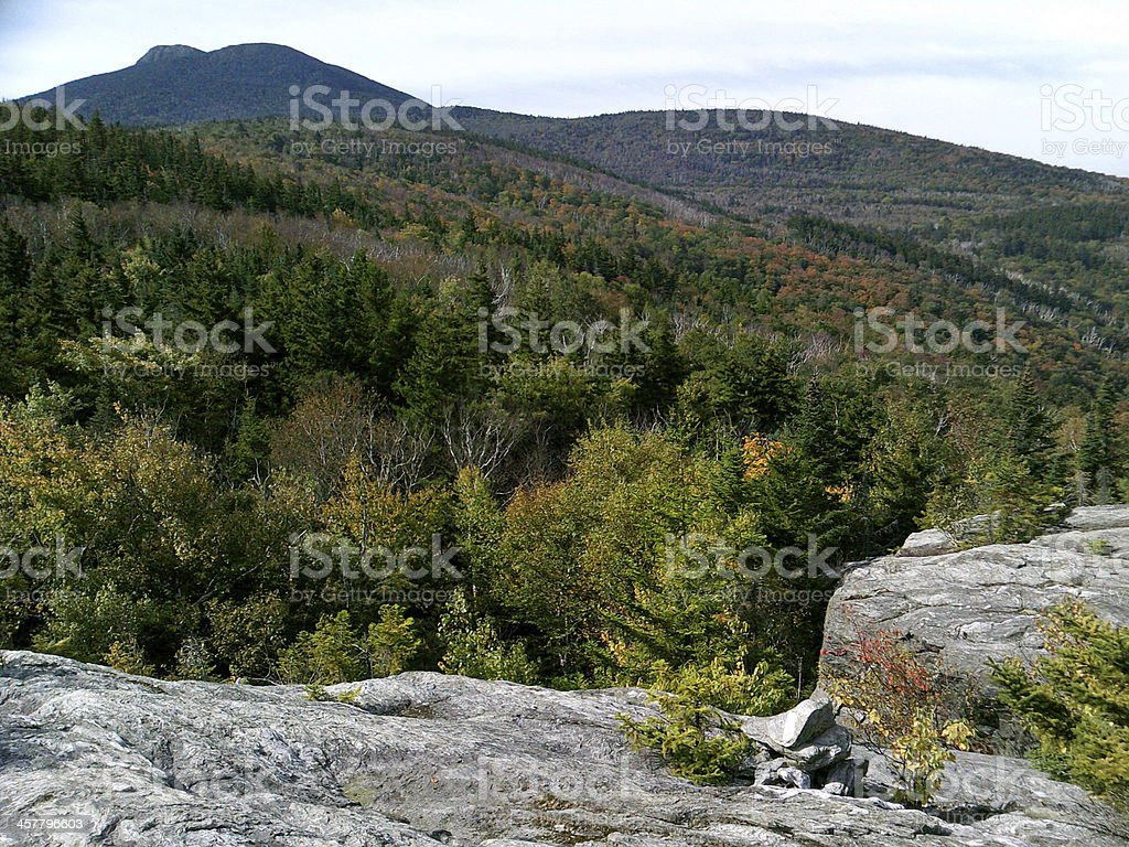 View of Camel's Hump royalty-free stock photo