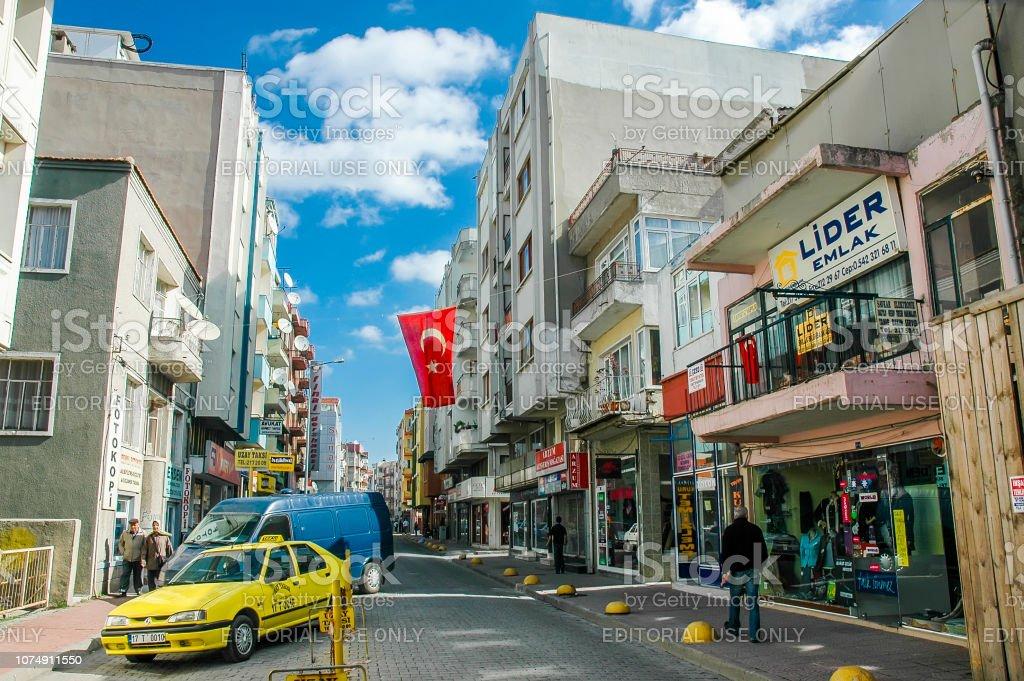 Vue des rues de Canakkale - Photo