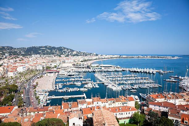 Blick auf Cannes – Foto
