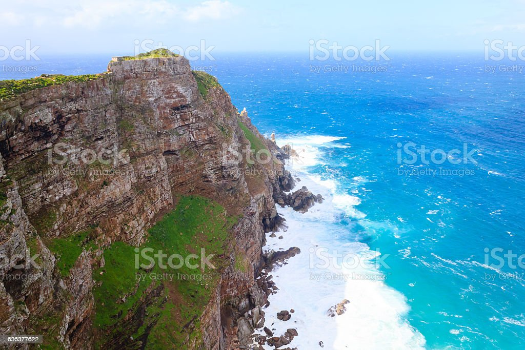 View of Cape of Good Hope South Africa stock photo
