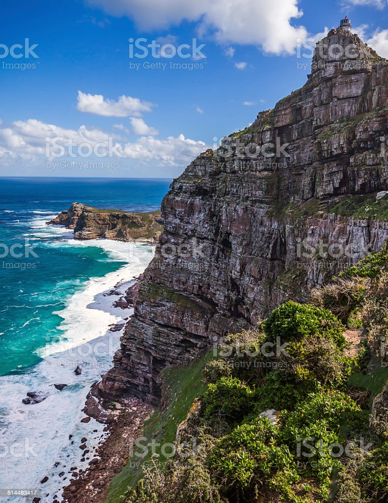 View of Cape Point stock photo