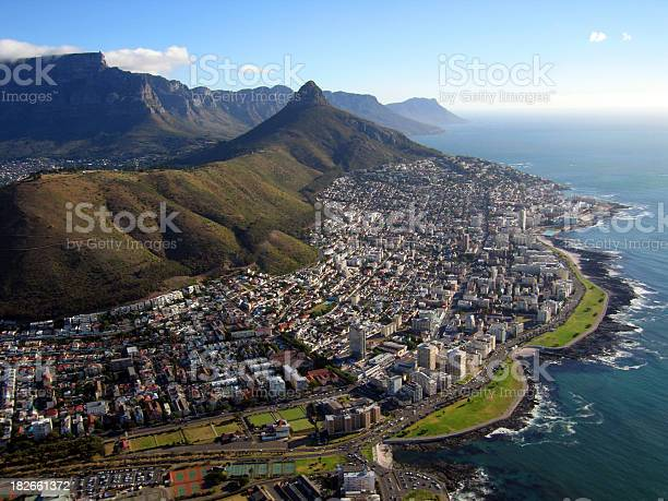 View Of Cape Town Stock Photo - Download Image Now