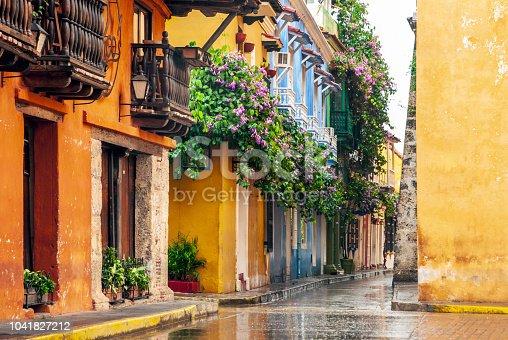 istock View of Cartagena de Indias, Colombia 1041827212