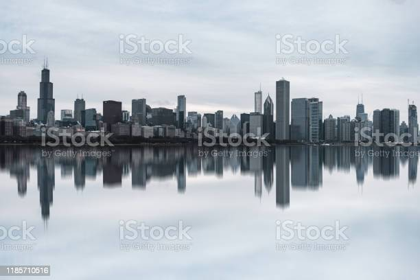 Photo of View of Chicago Skyline at Daytime